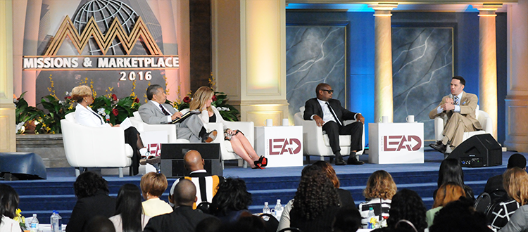 Mindset of Success Panel with Dr. Bill Winston, Dr. Holly Carter, Andre Harrell, Ellen Rakieten, & Steve Pemberton